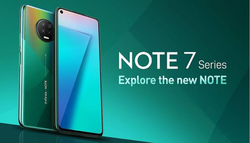 Infinix Note 7 has been named smartphone of the year at the BoICT awards. 3