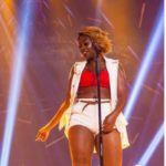 "Ugandan Singer, Cindy Sanyu Reacts As Nigerians Drag Her For Calling Omah Lay & Tems ""Idiots"""