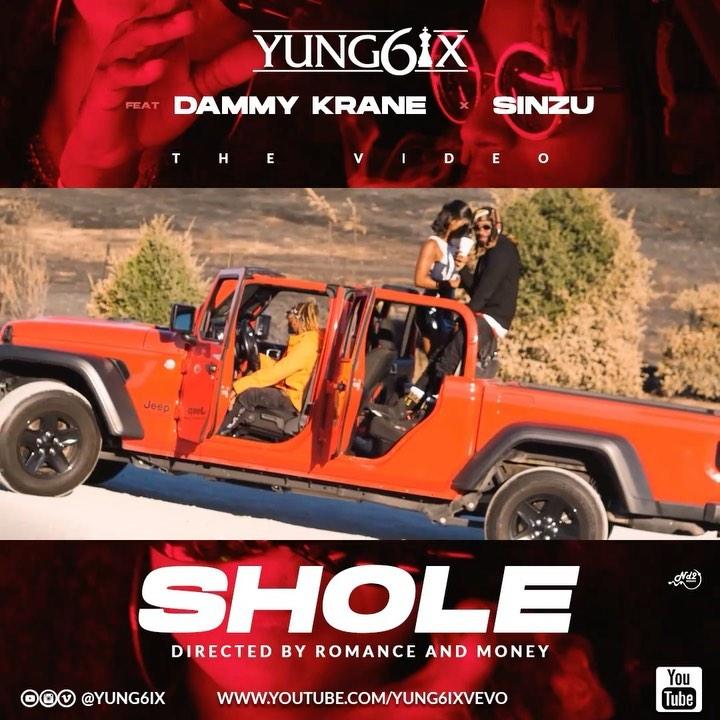Yung6ix, Shole, Shinzu, Dammy Krane