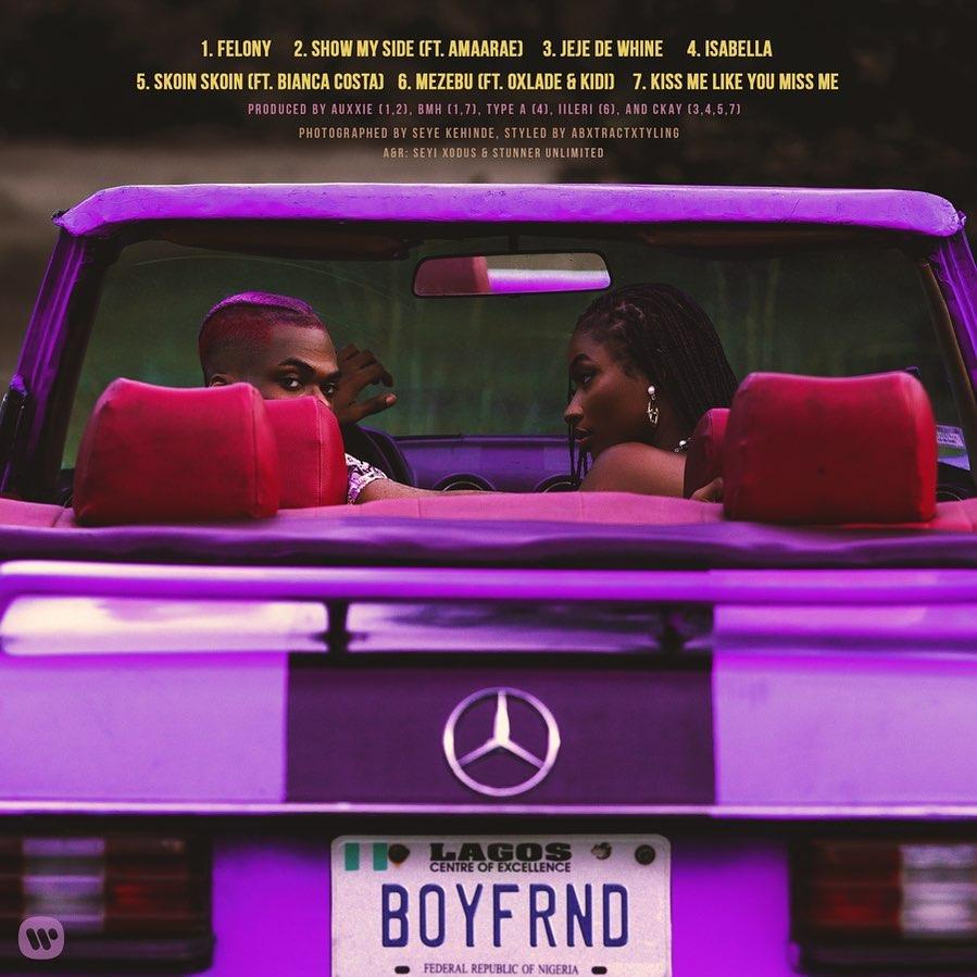"""[EP] CKay – """"Boyfriend"""" ft. Amaarae, Oxlade, KiDi… 1"""