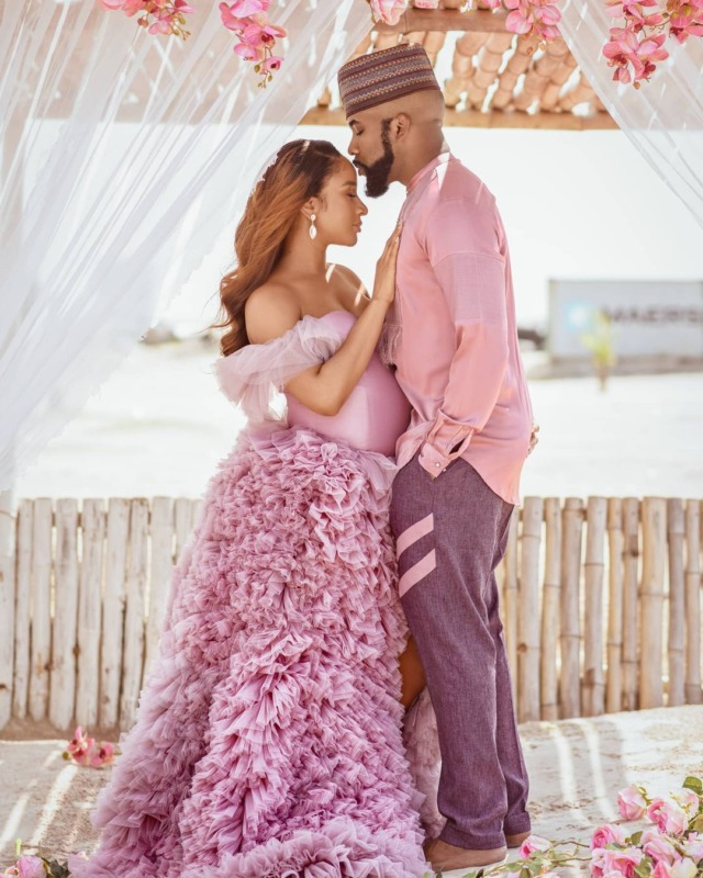 Banky W And Adesua Announces The Birth Of Their First Child – 'Zaiah' 1