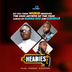 Do You Think Wizkid Deserves The 14th Headies Artiste Of The Year Award, Ahead Of Burna & Davido?