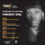 Fireboy DML Wins Big At The 14th Headies Awards