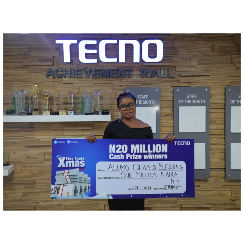 How TECNO's Blue Christmas Changed People's life Forever 2