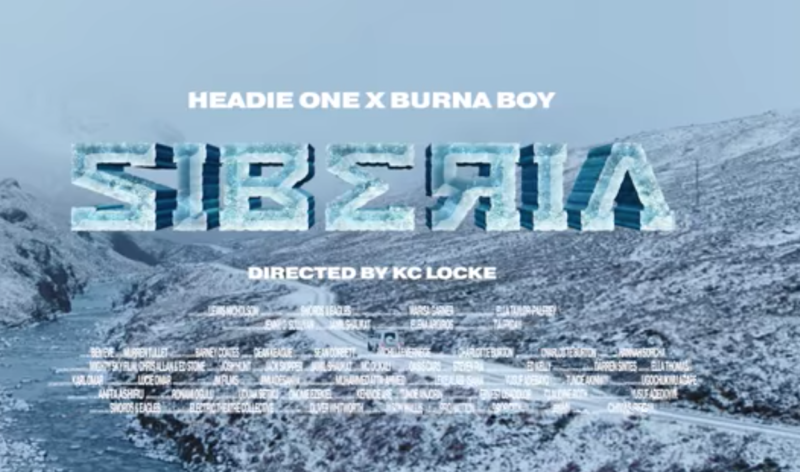 Headie One Siberia Burna Boy