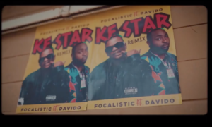 Focalistic Davido Ke Star Remix Lyrics