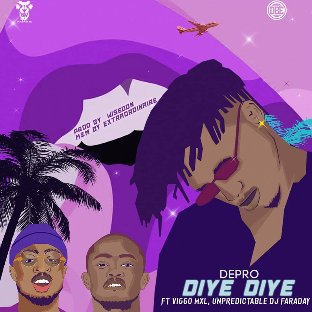 "Depro – ""Diye Diye"" ft. Viggo, Unpredictable Dj Faraday 1"