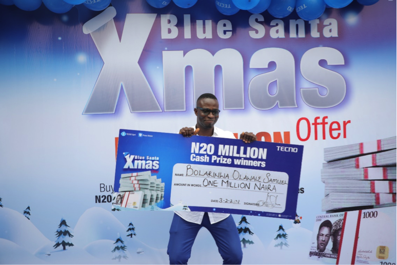 How TECNO's Blue Christmas Changed People's life Forever 3