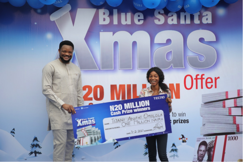 How TECNO's Blue Christmas Changed People's life Forever 4
