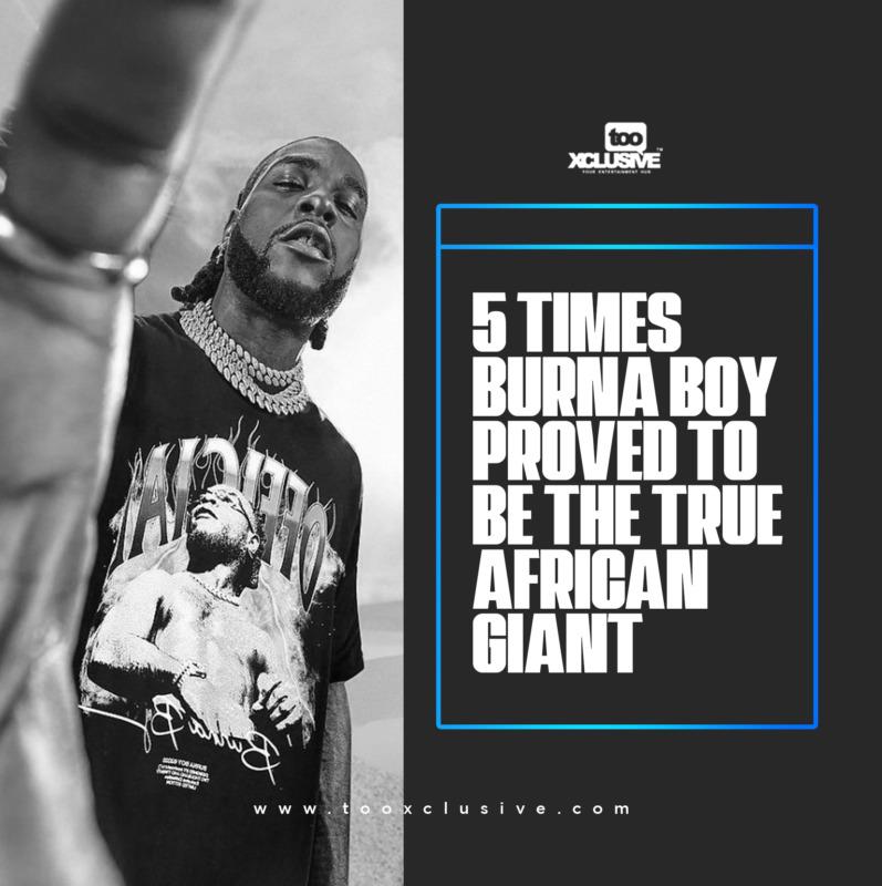 Burna Boy African Giant