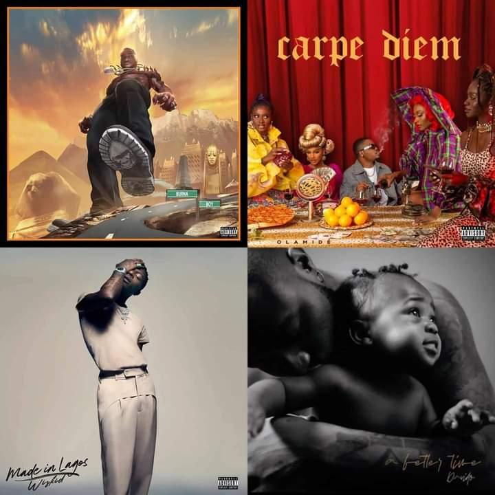 Albums In Nigeria