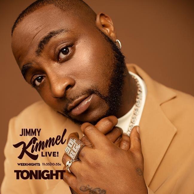 Davido Assurance Jowo Jimmy Kimmel Live