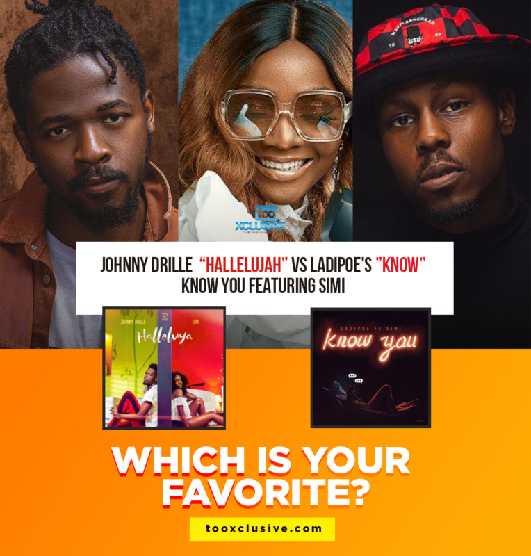 """Johnny Drille's """"Hallelujah"""" Vs Ladipoe's """"Know You"""" ft. Simi… Which Is Your Favourite?"""