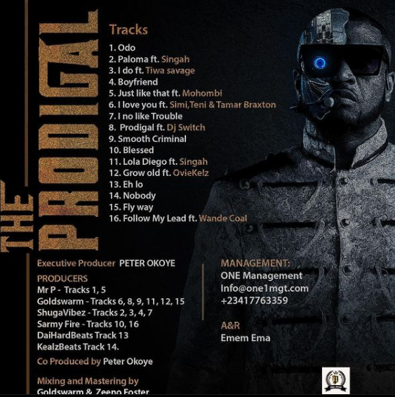 Mr P Official Tracklist & Release Date