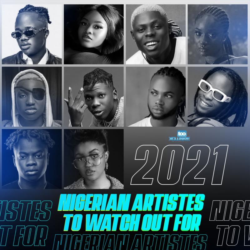 Nigerian Artistes 2021