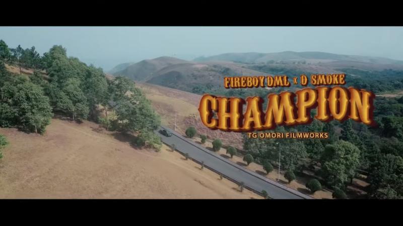 Fireboy DML D Smoke Champion