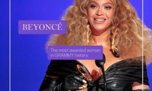 Women's Month Beyonce Grammy