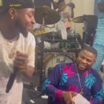 Davido Joins Yinka Ayefele On Live Stage, Sprays Him 1 Million & Performs His Hit Song | WATCH