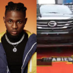 "Omah Lay Receives His Headies ""Next Rated"" Award And Car Gift"