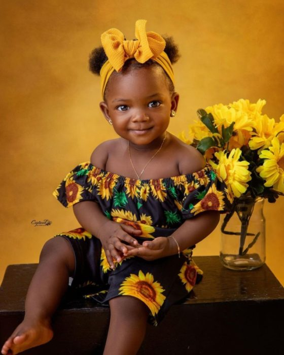 193171511 157748456323326 7584384654826923256 n scaled - Simi And Her Husband Finally Show Face Of Their Cute Daughter, Deja To The World