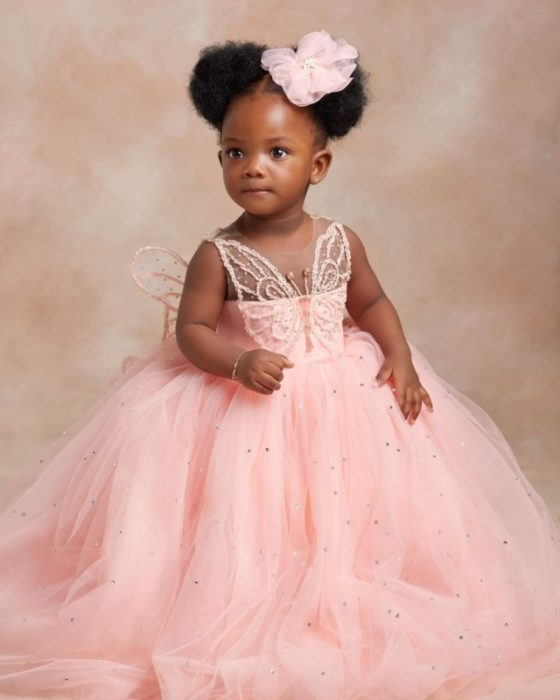 193515166 142735321180245 7063573007207642522 n scaled - Simi And Her Husband Finally Show Face Of Their Cute Daughter, Deja To The World