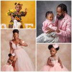 Finally Adekunle Gold And Simi Shows The Face Of Their Daughter, 'Deja' To The World, Shares Cute Photos