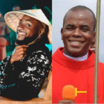 Country Don Choke o; Davido Reacts Distastefully To Father Mbaka's Disappearance