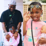 Davido Surprises His Daughter, Imade With A Dior Saddle Bag Worth Over #1.7 Million