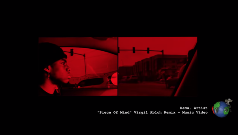 Virgil Abloh Rema Peace of Mind Remix Lyrics