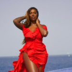 """""""You Burst My Brain"""" – Tiwa Savage To A Fan Who Tattooed Her Name On Her Chest"""