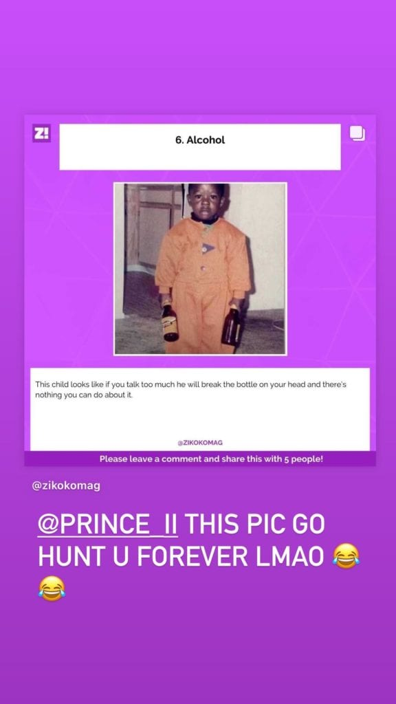 Davido Taunts His Lawyer, Prince With Hilarious Photo Of Bobo's Childhood #Arewapublisize