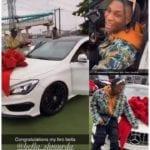 Bella Shmurda Buys His First Benz, Acquires The CLA 250 Worth Over 18 Million Naira