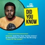 """Did You Know; Olamide Used The Viral Song – """"Ameno"""" (Torime, Dorime) As Soundtrack In 2013?"""
