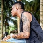 Wizkid Draws Hilarious Tattoo On His Body After Earning Millions From The 'Abuja Wizkid Live'