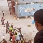 Wizkid 'Makes It Rain' At A Private Beach In Lagos (Watch!)