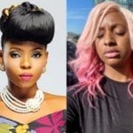 """""""Told u to adopt me!"""" – Yemi Alade Taunt DJ Cuppy After One Of Cuppy's Babies 'Dudu' Messed Up Her Toilet"""