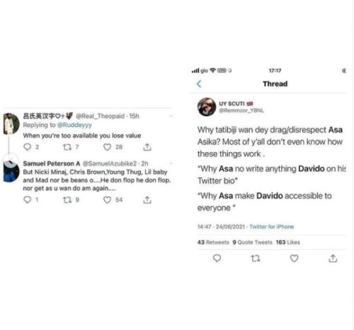 30BG Calls On Davido To Sack His Manager, Asa Asika