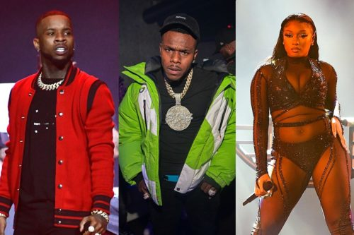 """Tory Lanez Tweets About """"Disloyalty,"""" Got Fans Thinking It's About Megan And DaBaby #Arewapublisize"""