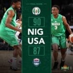 """Olamide's 2020 Hit Song, """"Loading"""" Got Played At The Arena During 'Nigeria vs USA' Basketball Match"""