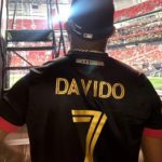 """New Record Alert! Davido Becomes The First African Artiste To Hit The """"Atlanta Golden Spike"""", At The Mercedes-Benz Stadium"""