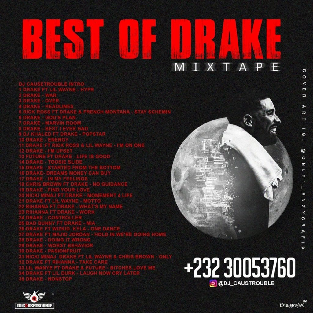DJ Causetrouble Best Of Drake