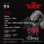 """Rhezy – """"Forever"""" ft. Teni (The Polygamous Bachelor EP)"""