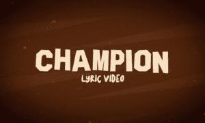 Bella Shmurda Champion Lyrics