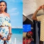 """""""He Go Collect…"""" Says Tiwa Savage & Davido As They Pay ObamaDMW's Grave A Courtesy Visit In Epe"""