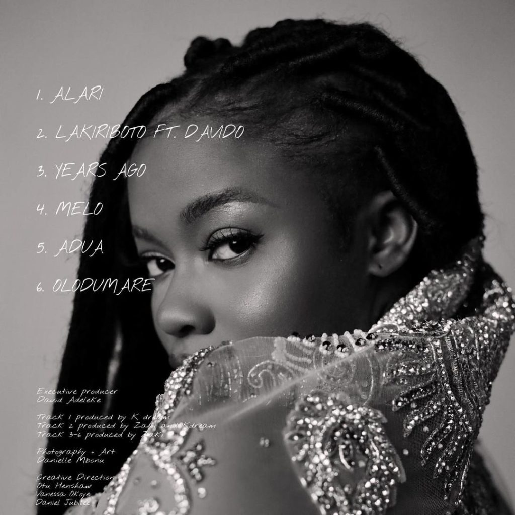 "[EP] Liya – ""Alari"" The EP #Arewapublisize"