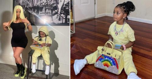 Cardi B Shows Off Kulture's New 24 Million Naira Custom Hermès Birkin Bag #Arewapublisize