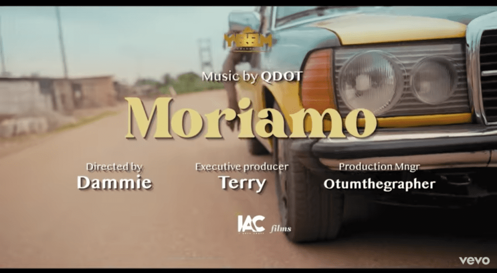 "Qdot – ""Moriamo"" (Official Video + Lyrics) #Arewapublisize"