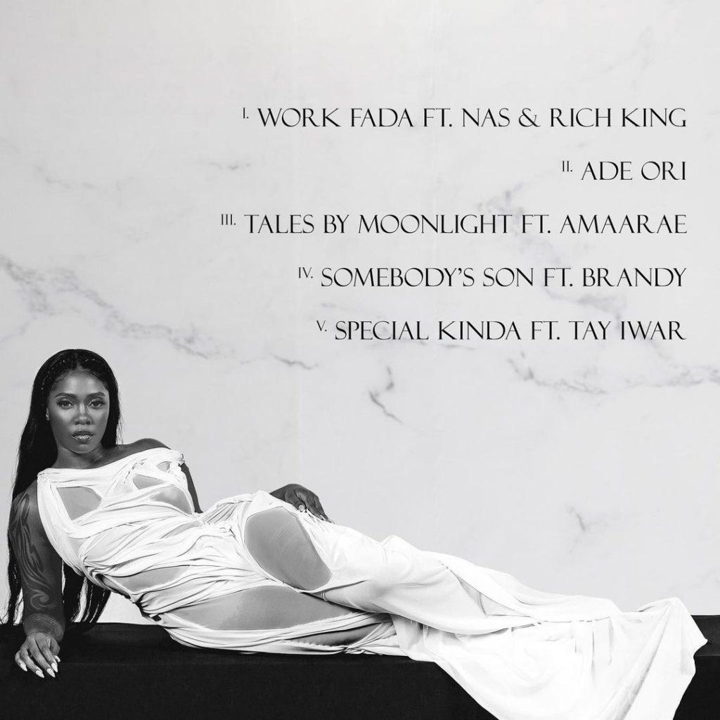 """[EP] Tiwa Savage – """"Water & Garri"""" ft. Nas… #Arewapublisize"""