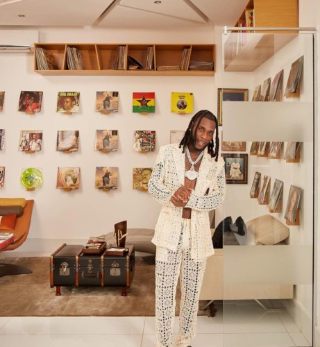 VIDEO: Burna Boy Gives Fans A Virtual Tour Of His Multi-Million Naira Mansion #Arewapublisize