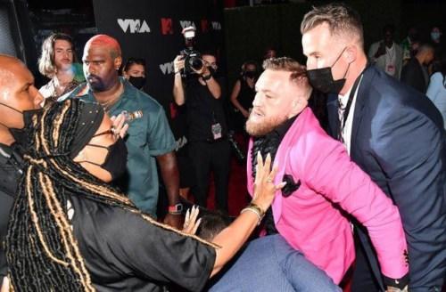 MTV VMAs 2021: Machine Gun Kelly And Conor McGregor Engage In Brawl Last Night #Arewapublisize